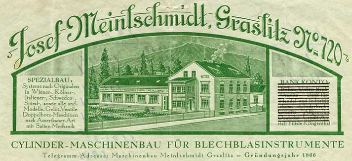 Meinlschmidt Firmengründung 1866