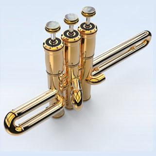 Trumpet Piston Valves